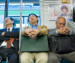 Сон японцев в общественном месте.