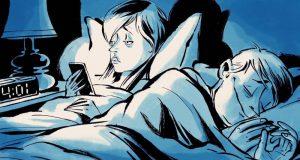 Нарушение режима сна плохо отражается на здоровье.