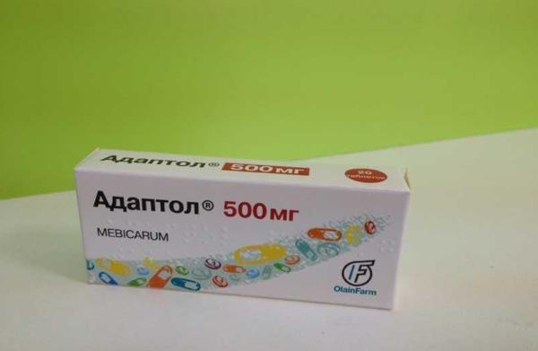 Упаковка с препаратом Адаптол