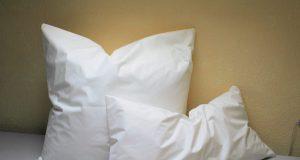 Пуховые подушки.